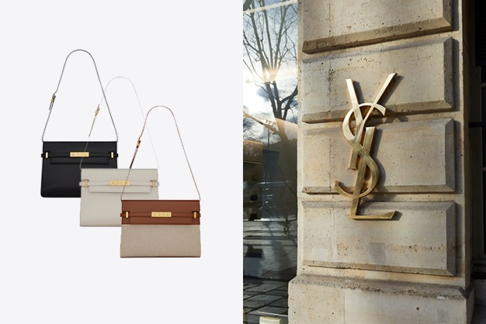 沒有顯眼 Logo 卻默默受到熱愛:Saint Laurent 這款手袋才是時髦女生的低調之選!