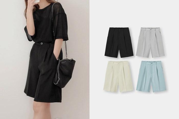 初夏必備的穿搭好物:GU 新上架百慕達短褲,顯瘦的率性質感獲日本女生好評!