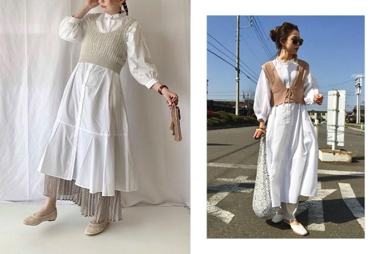 日本女生的夏日顯瘦單品:GU 高人氣襯衫連身裙,簡約卻能有多種穿法!