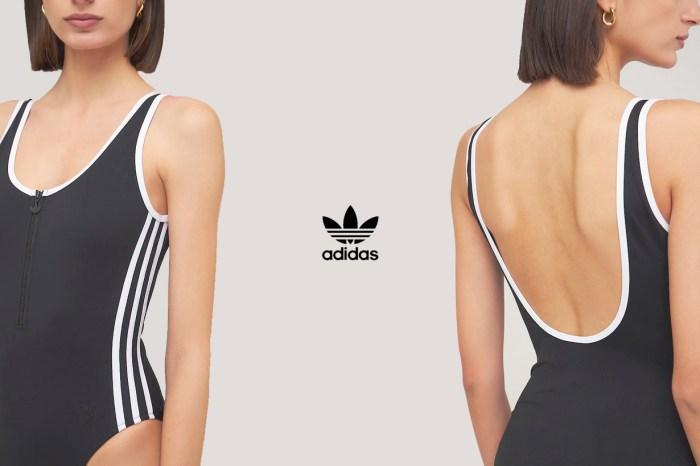 性感小細節:adidas Originals 復古連身泳裝,門市也不一定能找到!