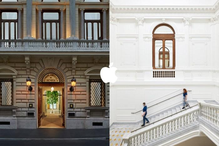 修復數千小時的古蹟,座落於 19 世紀羅馬宮殿的 Apple Store