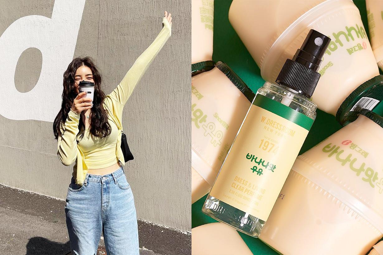 Binggrae Banana Milk W.Dressroom Perfume Fragrances Crossover Dress and Living Clear Perfume