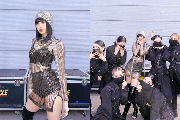 BLACKPINK Lisa 表演時被指紙碎噴臉這樣處理,網民:真正專業的舞台王者!