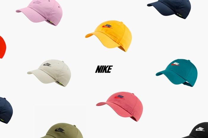 可遇不可求:簡單經典的 Nike 棒球帽,10 個配色通通打包!