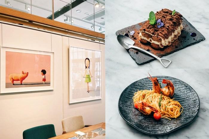 一邊欣賞價值百萬的藝術品一邊品嘗美食!推介兩間富有藝術感的 Cafe