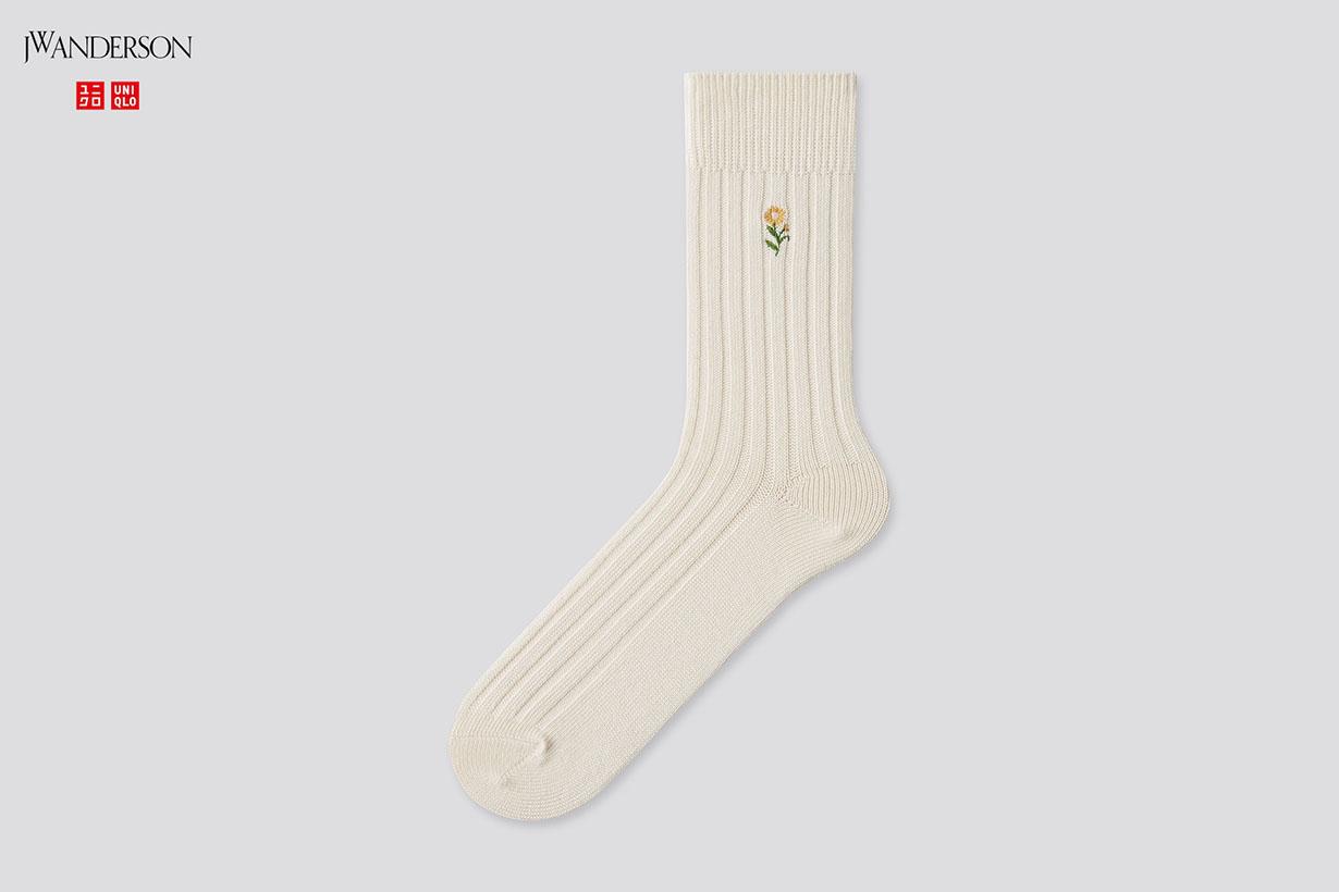uniqlo jw anderson 2021ss socks