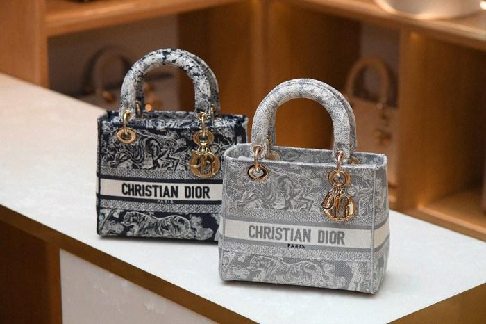 Dior 開設 Lady Dior 期間限定店,想把每一款手袋都帶回家