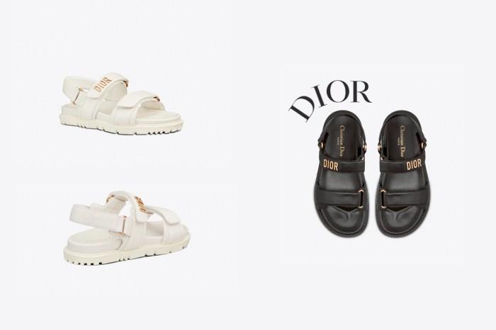 飄仙女味:老爹涼鞋還在紅,今年夏天怎能錯過 Dior!