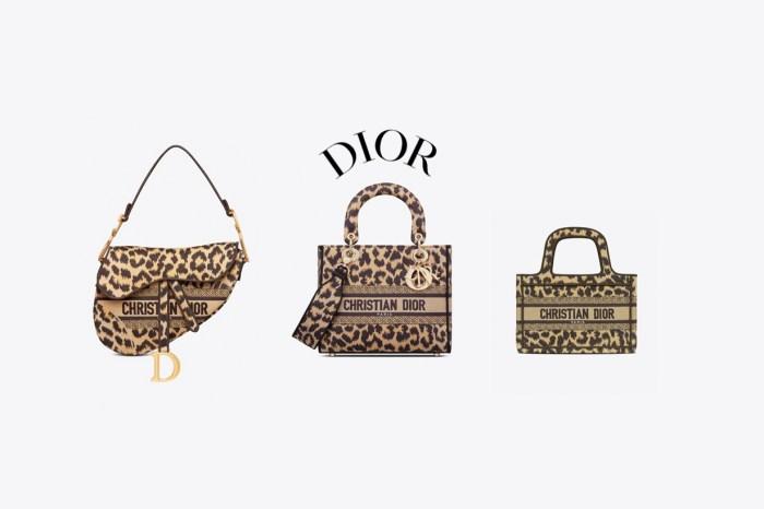 Dior 人氣手袋排排站:清一色換上豹紋,也很對味!