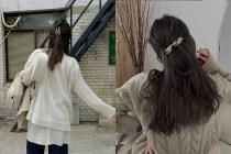 一根髮夾+10 秒:別再低髮髻,韓國女生 IG 正夯這個髮型!