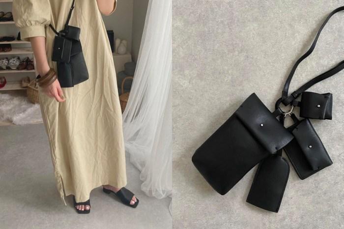 極推高性價比:H&M 3+1 極簡肩背包,日本女生隱藏新寵!
