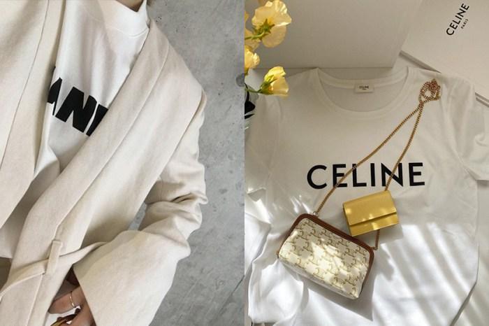 基本款更要高級感:CELINE、Jil Sander 極簡白 Tee,時髦博主心頭愛!