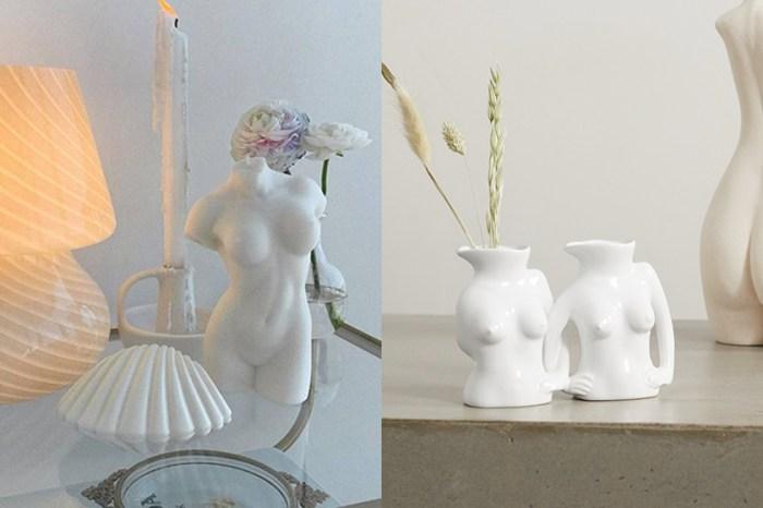 Home Décor Trend:極簡生活,時髦女生偷偷擺在家中的裸女花瓶!