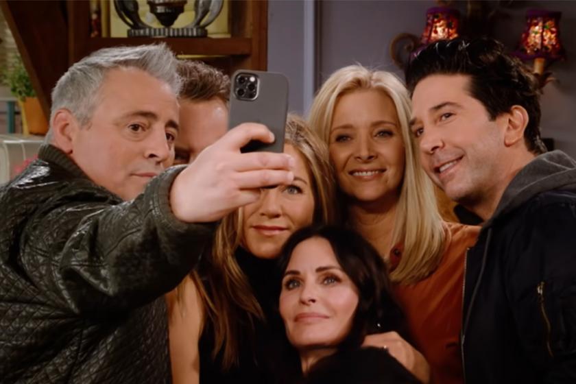 Friends The Reunion Jennifer Aniston and David Schwimmer romance hbo max