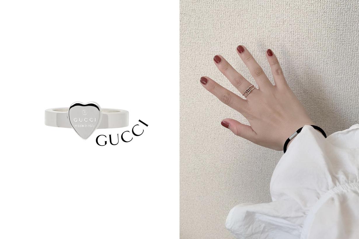 從細節點綴氣質:這 5 款簡約 Gucci 戒指,放一輩子也保值!