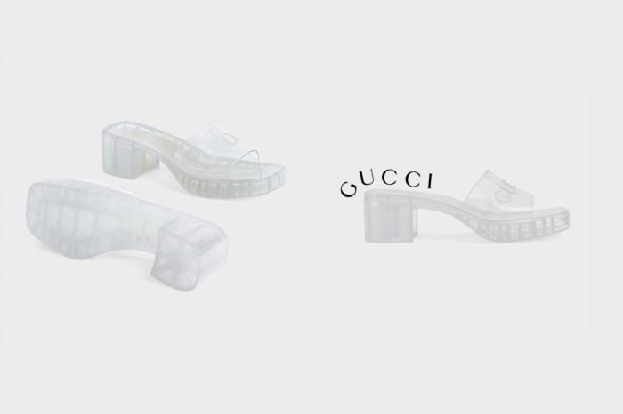 灰姑娘玻璃鞋:Gucci 本季最降溫,不一樣的高跟涼鞋!