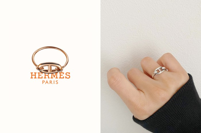 仙氣滿滿:比手袋好負擔,Hermès 這枚戒指低調又保值!