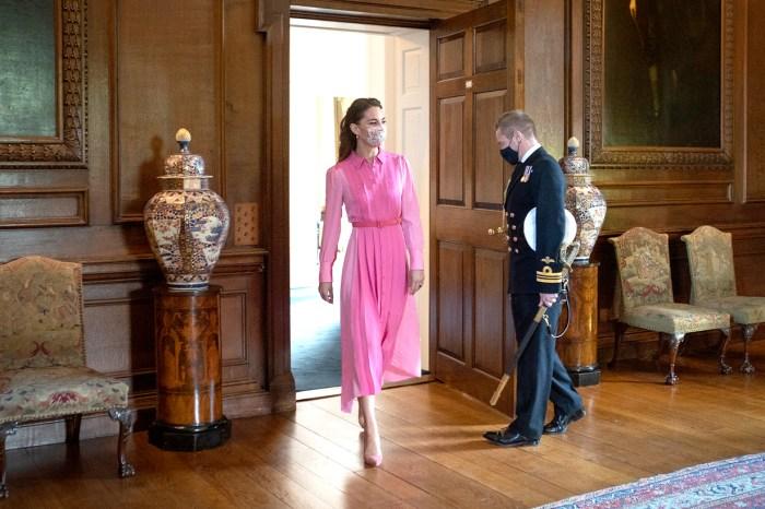 凱特王妃的造型又掀熱話!這襲粉紅色長裙背後是一個非常暖心的故事!