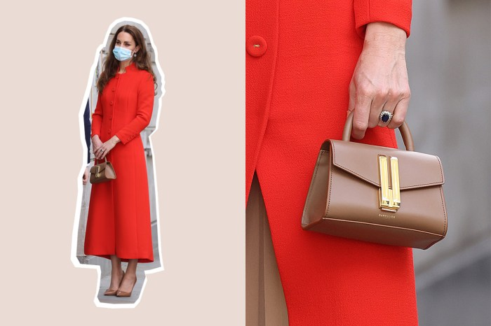 存貨快沒了:凱特王妃新入手的小眾手袋,價錢比想像還親民!