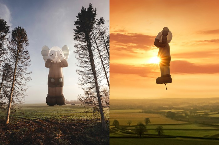 《KAWS:HOLIDAY 英國站》來了!42 米高 COMPANION 化身巨型熱氣球翱翔天空