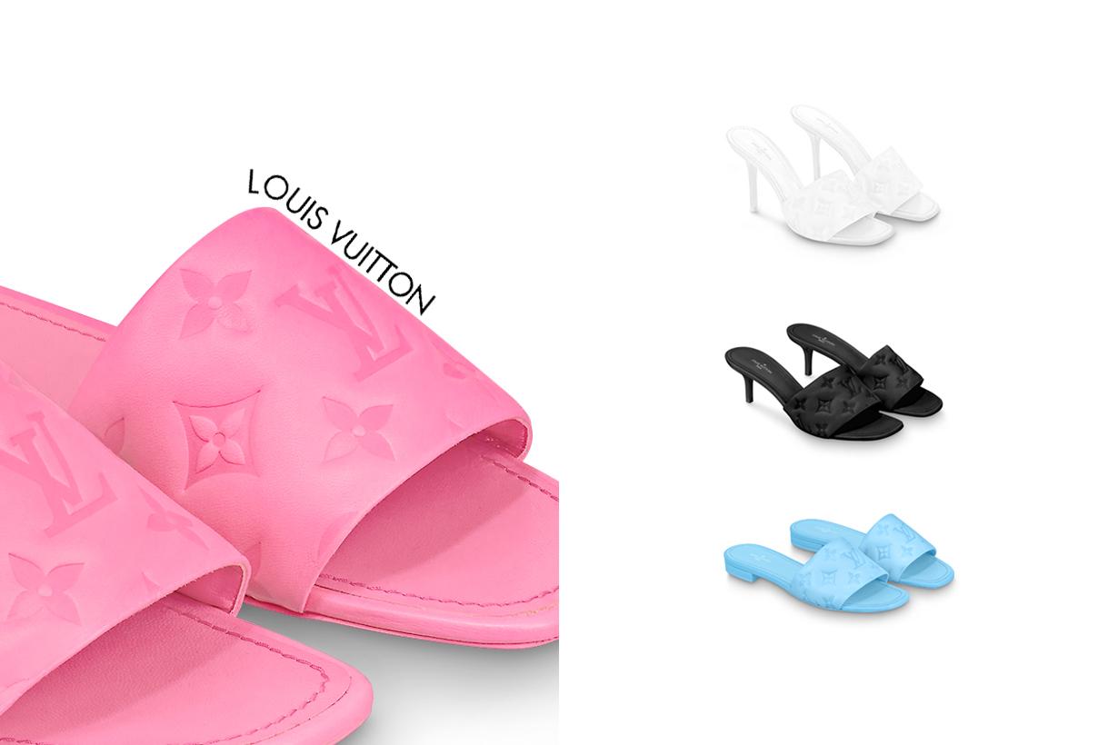 louis vuitton revival shoes 2021 mule heel