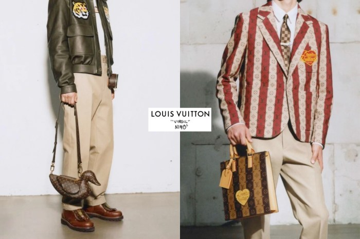 Louis Vuitton x Nigo 第二彈?網上偷曝光,鴨子手袋怎能不愛!