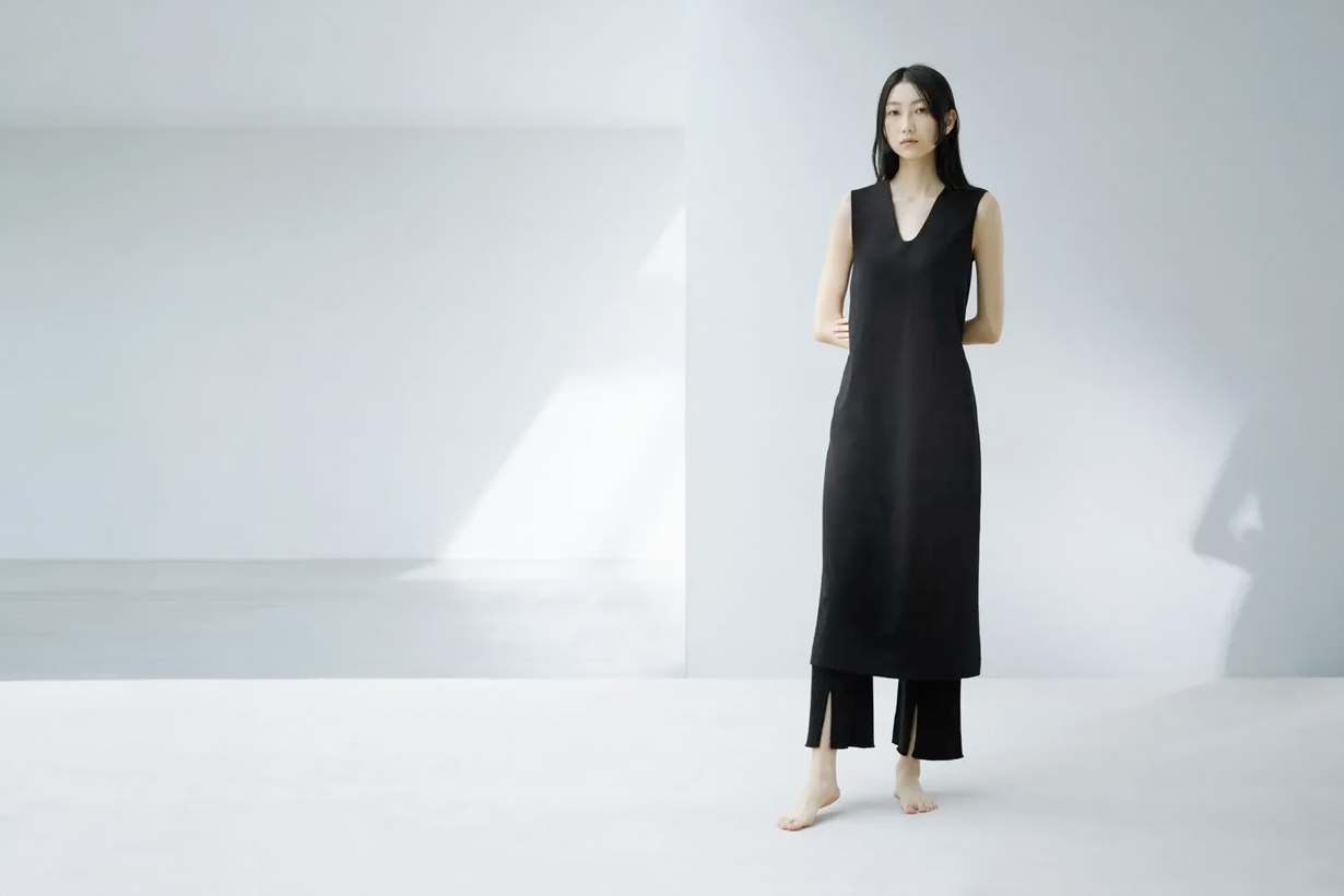 Uniqlo and Mame Kurogouchi innerwear simple 2021 collabration ss when where items all