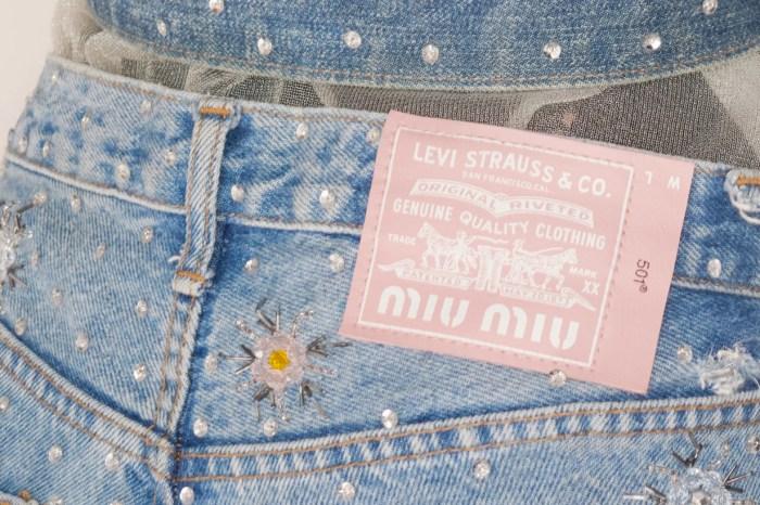 粉紅皮標 Levi's 的秘密?水晶、珍珠… 閃閃惹人愛的時髦系列!