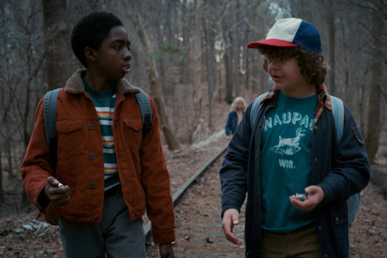 Netflix Stranger Things Lucas cast Caleb Reginald McLaughlin growth