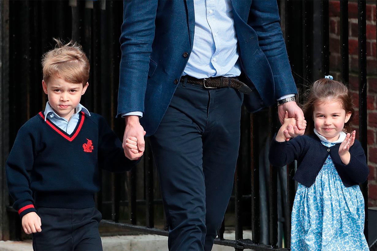 Prince William Kate Middleton Prince George Princess Charlotte Prince Louis Royal Children Royal Parents Parenting tips chat sofa time out corner British Royal Family