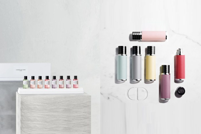 優雅好攜帶:Maison Christian Dior 迷你香水瓶,未發售引熱議!