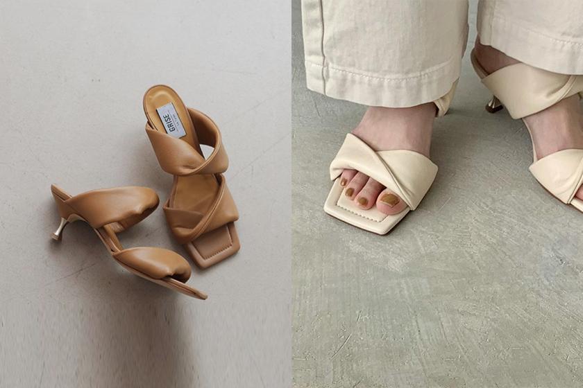 japanese shoe brand Le Talon heel 2021ss