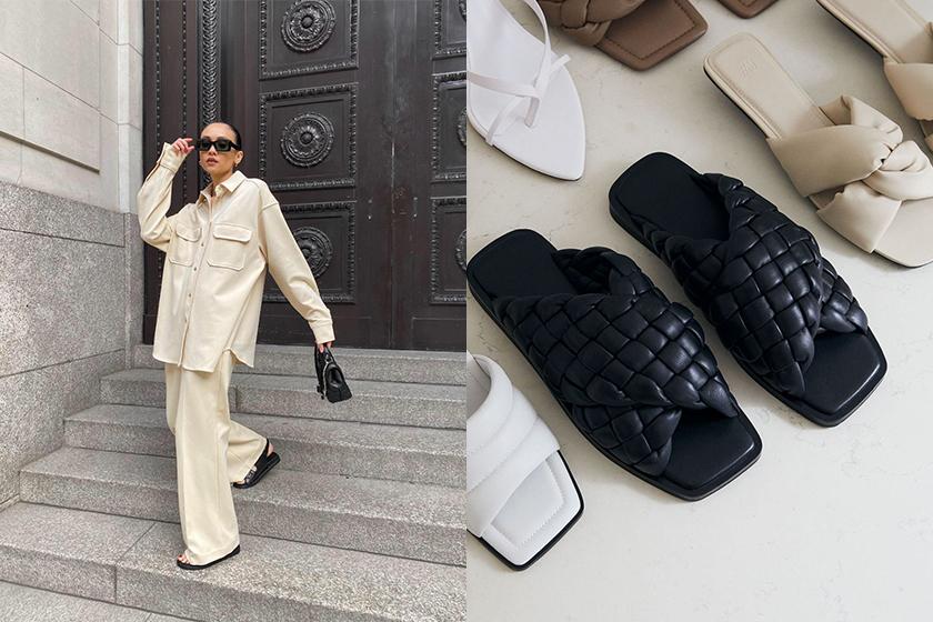 2021 fashion trend popular cream color fashion blogger