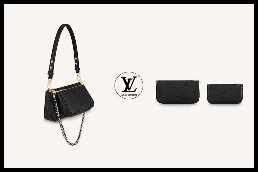 Louis vuitton Multi Pochette Accessories Monogram Empreinte handbags