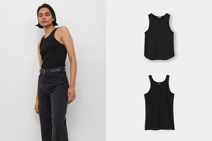 最受歡迎比較:GU、H&M 兩款削肩背心,哪件副乳救星 / 最顯瘦?
