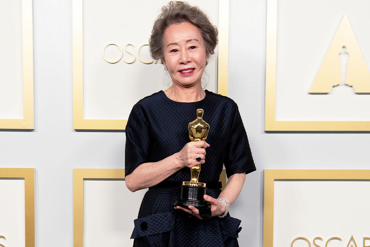 Youn Yuh Jung Youn Yuh Soon LG First Female CEO Chief Executive Officer Oscars 2021 Minari Best Supporting Actress Korean idols celebrities actresses