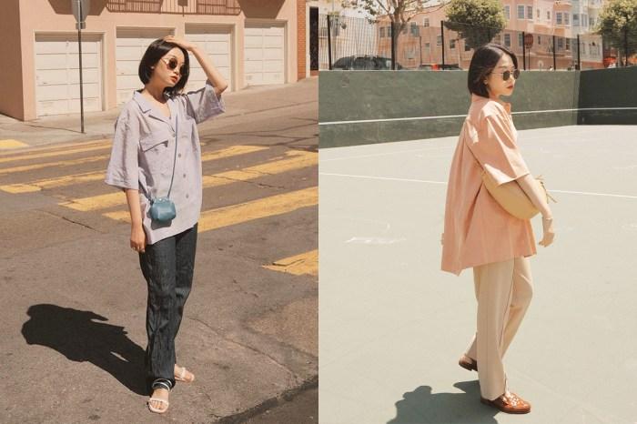 夏日版的 Boyfriend Shirt,是每個形格女生的必備單品!