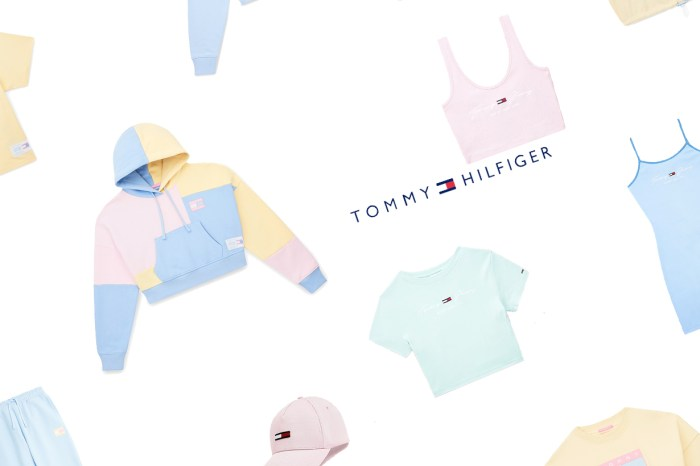 Tommy Hilfiger 新上架:低飽和粉彩色,短版上衣、洋裝… 想全打包!