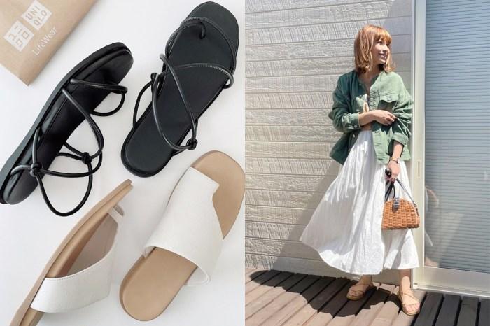 平價美遺珠:UNIQLO 涼鞋區挖寶,這 2 雙日本女生腳上出鏡率最高!