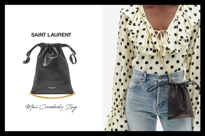 Saint Laurent 貨架上的隱藏版小手袋,只需五千多元就能入手!