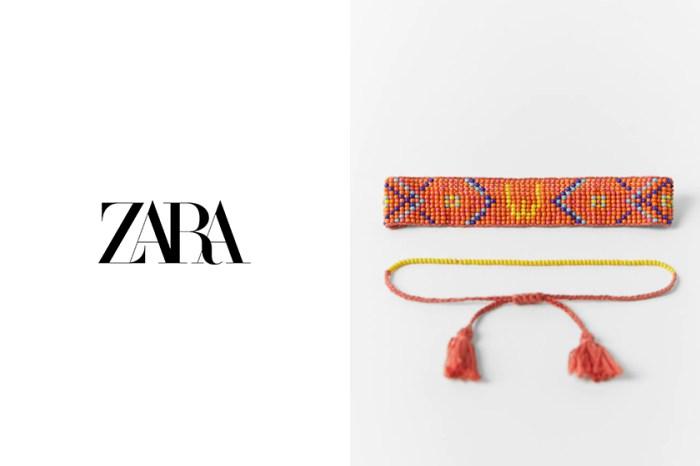 ZARA 字母系列再加一枚!適合夏日質感穿搭的只有這款手帶!