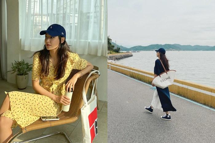 看過 IU 和 Lisa 的優雅示範,就知道棒球帽+洋裝是今夏的必備穿搭!