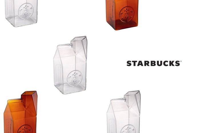趁缺貨前快入手:紅遍 Instagram 的 Starbucks 牛奶盒玻璃杯再度登場!