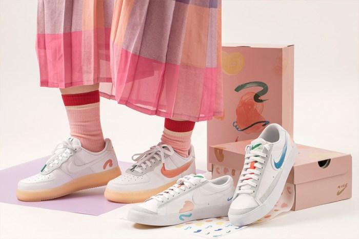 充滿童趣的手繪勾勾!Mayumi Yamase x Nike 聯名鞋款藏著這個細節讓人愛上!