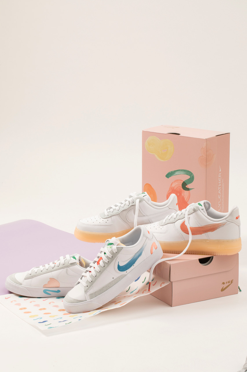 Mayumi Yamase x Nike Flyleather Sneaker