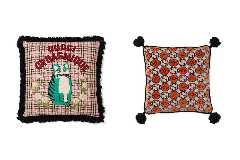 Alessandro Michele Gucci Decor Scented Candle cushion Jewellery Dish