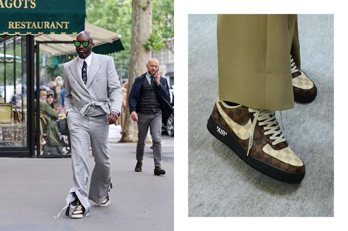 春夏大秀上的矚目焦點:Louis Vuitton x Nike 驚喜聯名 Air Force 1 經典鞋款!