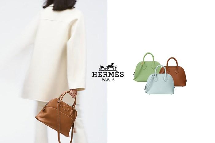 Hermès 下一款潛力手袋,Mini Bolide 一上架就被搶購一空!