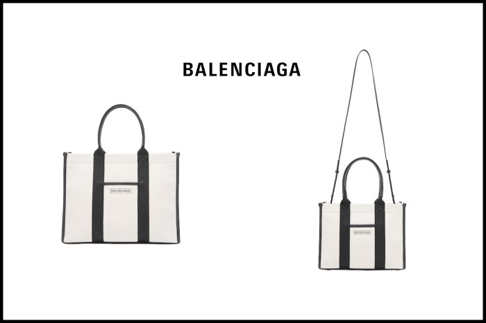 接棒  Navy Cabas 人氣:Balenciaga 帆布包 2.0,3 個尺寸預備備!