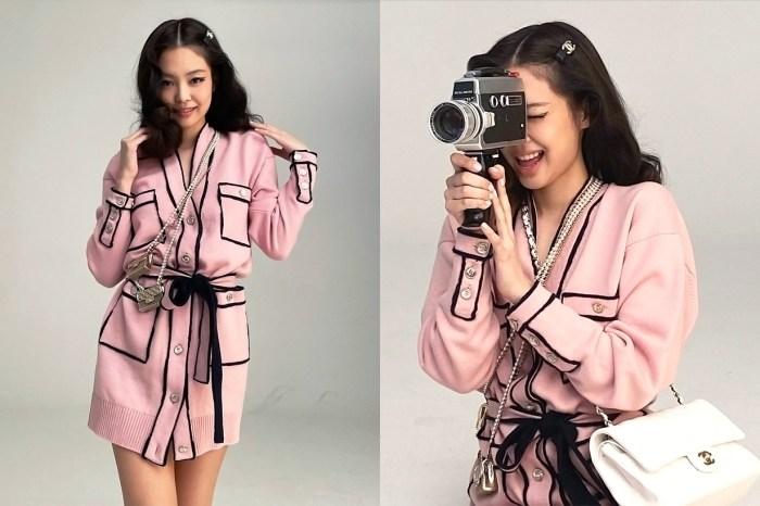疫情之下照樣能夠跟海外攝影師合作,BLACKPINK Jennie 用的是這個特別方法!